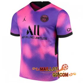 Maillot Foot Jordan Paris PSG Quatrieme 20/21
