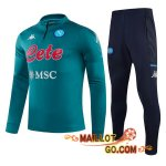 Survetement Foot SSC Naples Cyan 20/21