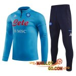 Survetement Foot SSC Naples Bleu 20/21